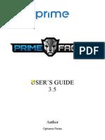 Primefaces Users Guide 3 5c
