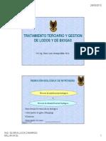 Tratamiento Terciario y Gestion de Subproductos PTAR