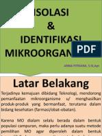 Isolasi & Identfikasi Mo