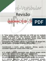 Revisão Unicamp 2013