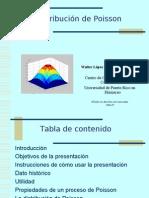 Modulo Sobre La Distribucion de Poissonl Por Wallter Lopez