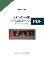 Emile Lyre - Le Voyage Philosophique
