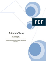 Word Handouts Theory of Automata