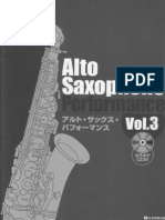 Alto Saxophone Performance Vol.3