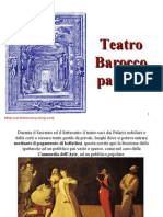 6 Storia Della Scenografia Il Barocco, Parte A