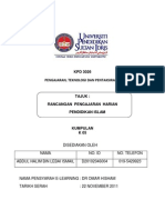 rancanganpengajaranharianamalisolat-111126040651-phpapp02