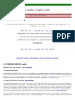 Dizionario Dei Falsi Amici Della Lingua Inglese
