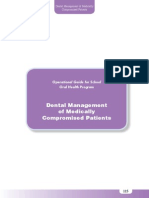 Dental Management of Medically Compromised Patients
