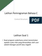 Latihan Control Structure