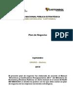 Plan de Negocios CARTONBOL