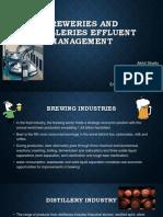 Breweries and Distilleries Effluent Management