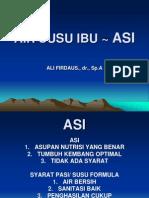 AIR SUSU IBU ~ ASI 2