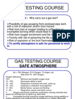 Gas Testing Course Ppt May 2008
