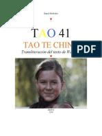 TAO 41 - TAO TE CHING