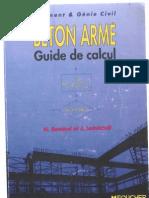 Guide de Calcul de Béton Armé