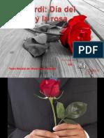 Sant Jordi Dia Del Amor y La Rosa Milespowerpoints.com