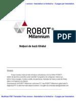 Cartea Robot Milenium Rom
