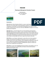 River Basin Simulation Model Introduction