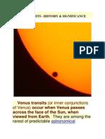 Venus Transits
