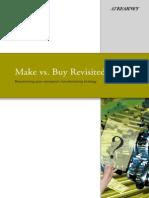 1 Make vs Buy Revisited
