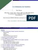 Methode d Elements Frontieres