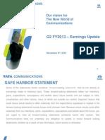 Investor Presentation Q2FY13