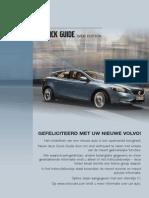 Volvo V40 Quick Guide