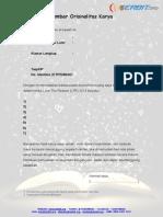 Formulir Dan Lembar Orisinalitas Ltr 2014
