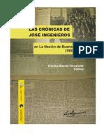 FERNANDEZ, C. (Ed) - Las Crónicas de José Ingenieros en La Nación de Buenos Aires (1905-1906)