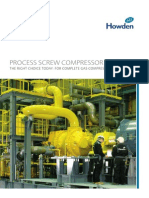 Process Screw Compressor Brochure