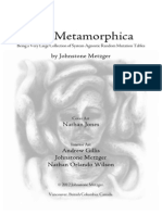 The Metamorphica - System Agnostic Mutation Tables