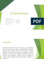 E Mail Protocols