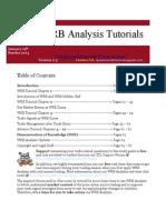 WRB Analysis Tutorials 011914 v2.5