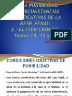 Tercer Corte. Temas 14 15 y 16 Penal