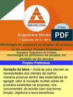 Aula6_Morfologia Do Processo de Projeto_Projeto Preliminar