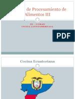 Cocina Ecuatoriana