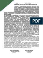 Comunicado Ctm Peru 02-07-2013
