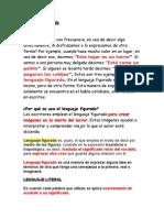 Lenguaje figurado PS6º