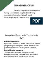 Komplikasi hemofilia