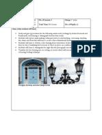 print scheme - 5th years