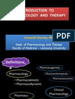 Intro Pharmacology