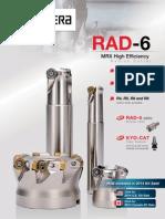 RAD-6 MRX Radius Milling Cutter
