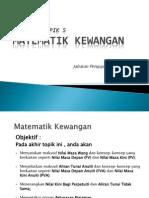 T5 Matematik Kewangan