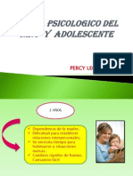 Perfil Psicologico Del Niño y Adolescente (Odontopediatria- Leon)