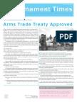Disarmament Times Summer 2013