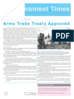 Disarmament Times Summer 2013