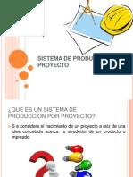 Sistema de Produccion Por Proyecto