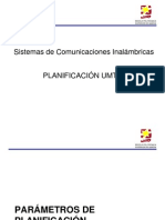 3.3 Planificacion UMTS