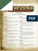 Pathfinder Rpg Errata