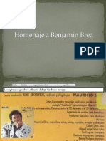 Homenaje a Benjamín Brea